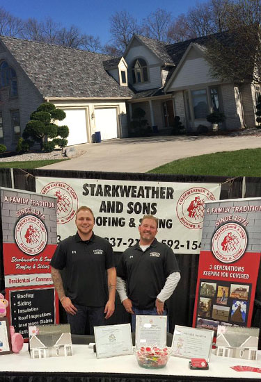 Choose Starkweather and Sons for Roofing - Siding - Windows in Ohio